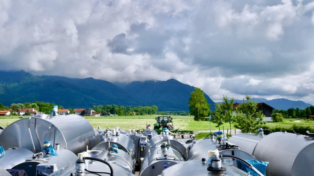 Alois Huber Landtechnik GmbH - Gebrauchte Milchkühltanks und Landmaschinen