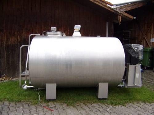 Milchkühltanks