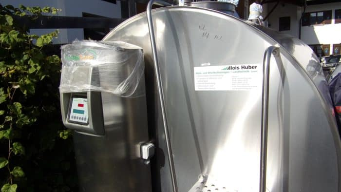 Alois Huber Landtechnik GmbH gebrauchter Milchkühltank