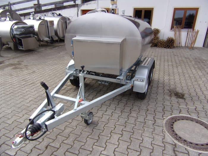Alois Huber Landtechnik GmbH Tank auf Anhänger